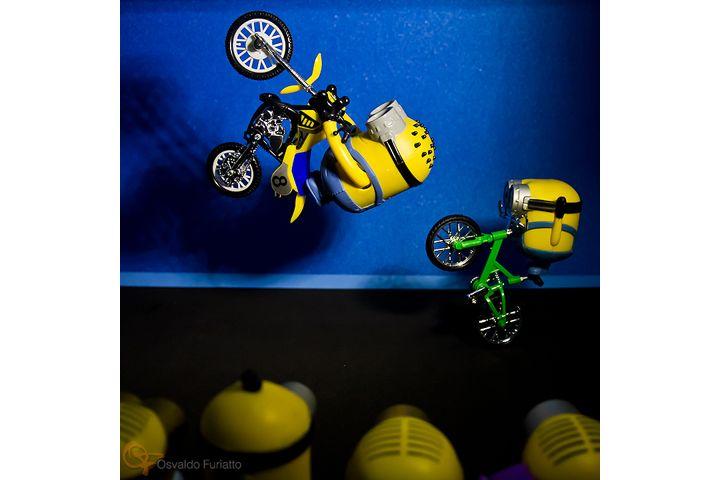 Minions em uma moto por dia: Dia 30