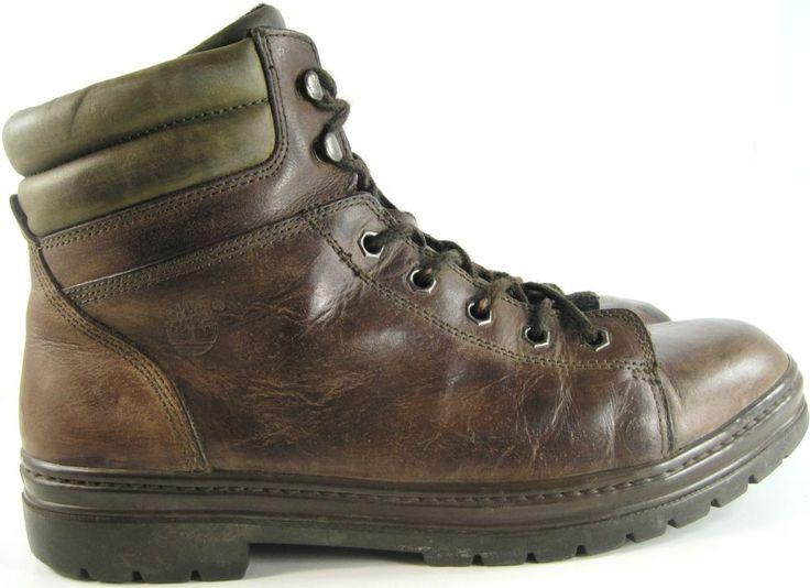 Timberland Men Boots Size 13 M Brown Style 69072.  #Timberland #HikingTrail