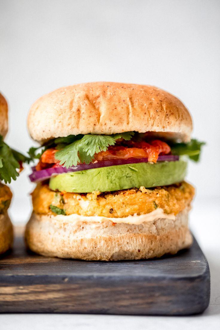 Vegan Sweet Potato Burgers