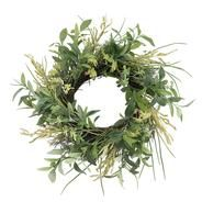 Faux Laurel Wreath – McGee & Co.