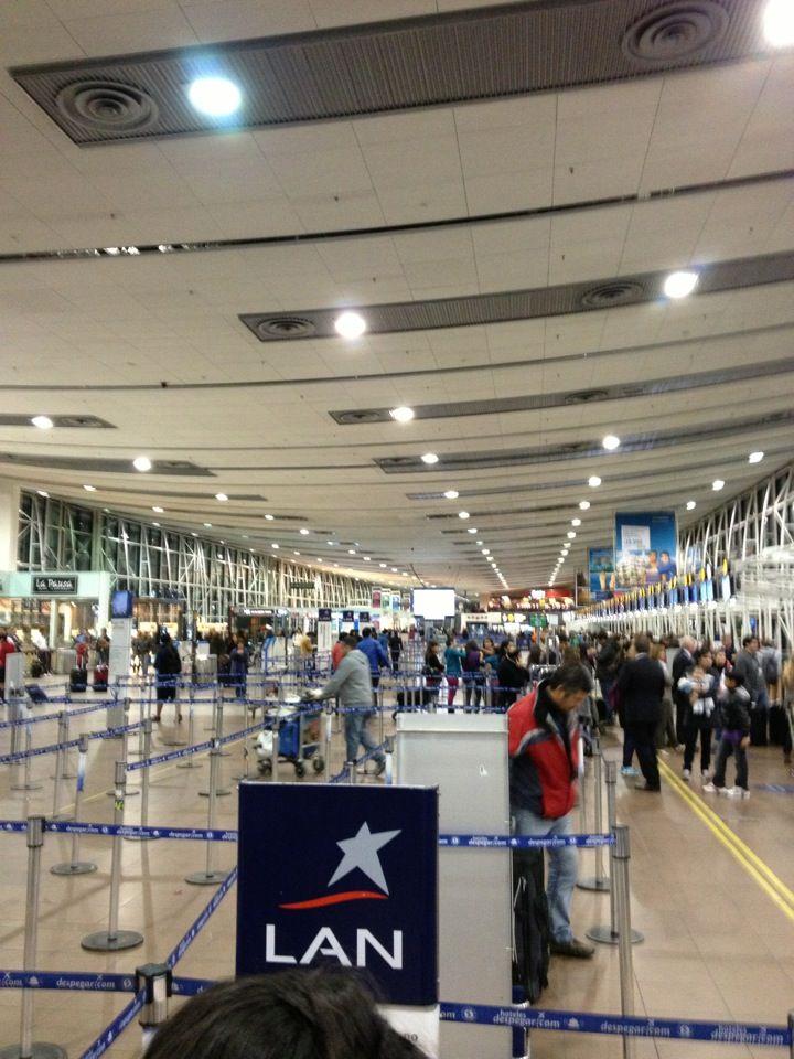 Aeropuerto Internacional Comodoro Arturo Merino Benítez (SCL) in Pudahuel, Metropolitana de Santiago de Chile