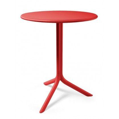 Stół Spritz czerwony