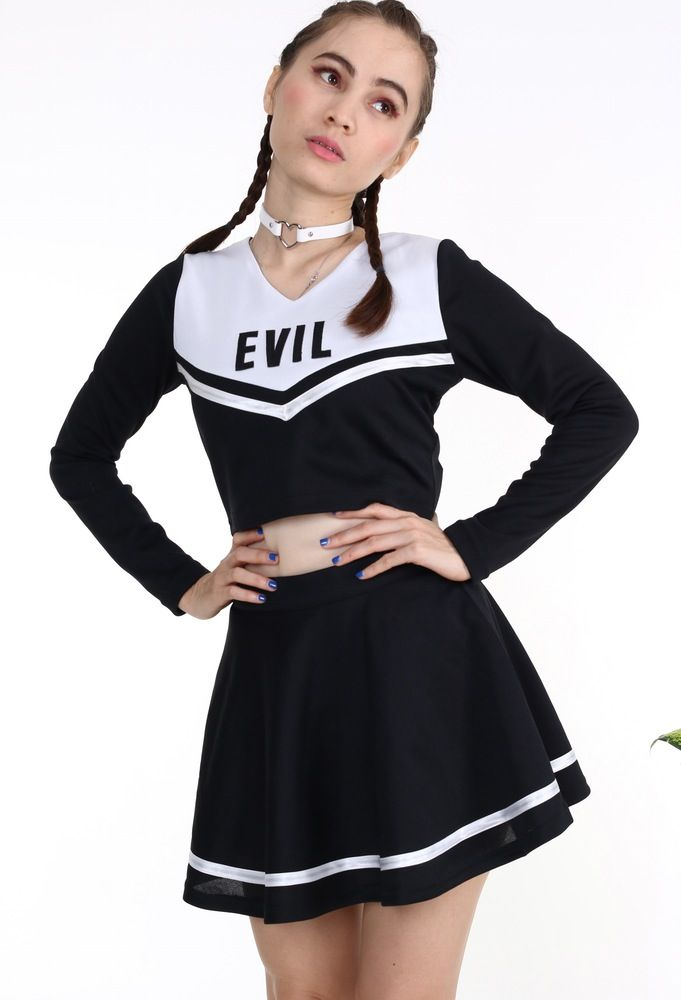 Image of Made To Order - Team Evil Cheerleading Set