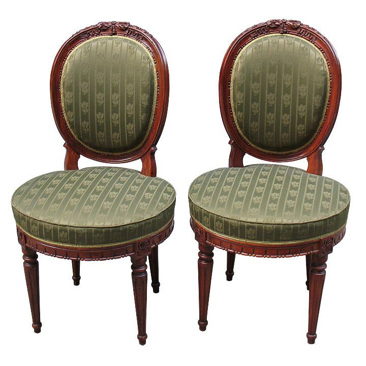 1stdibs.com | Superb Quality Finely Detailed Louis XVI Chairs - 42 Best Louis XVI Chairs Images On Pinterest Armchair, Antiques