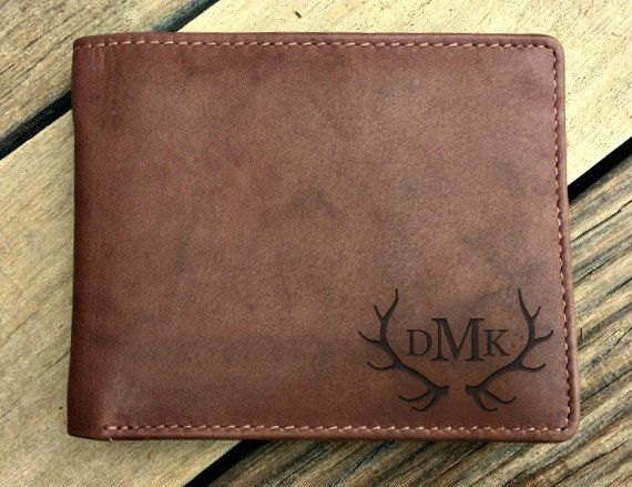 The perfect gift for the outdoorsman! This laser engraved genuine leather RFID blocking mens wallet is no ordinary wallet. The personalized, custom engraving, turns this identity protection wallet into a keepsake that he will actually use and cherish - the perfect gift for Christmas, graduation, birthday, going away, or just because you love him. Color - note color may vary monitor to monitor • Toffee  Specifications • Genuine top grain cowhide leather • 4 1/4 x 3 1/4 • 11 slots for cards •…