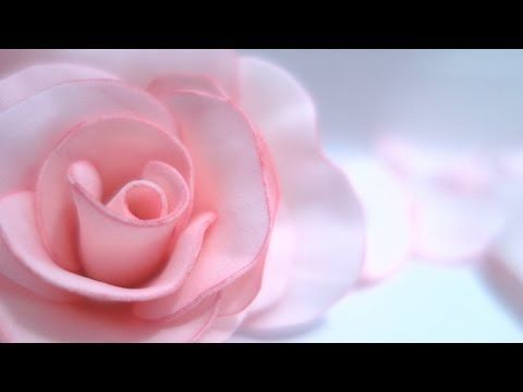 Foam Rose flowers Hand Made / Роза из фоамирана своими руками Реалистичные цветы Мастер класс МК - YouTube