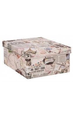 Vintage Storage Box Large