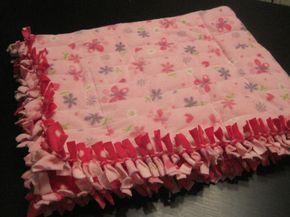 DIY weighted blanket