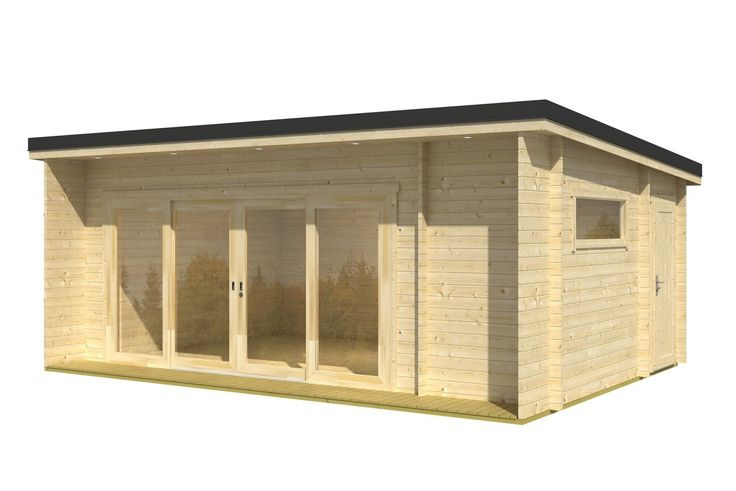 Cabins Unlimited - Java - 6.08m x 3.9m - 44mm Log Cabin - Under 2.5m, £5,795.00 (http://www.cabinsunlimited.co.uk/java-6-08m-x-3-9m-44mm-log-cabin-under-2-5m/) £7,400 with roof/floor insulation, tiles and teak wood protection