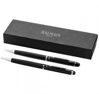 Promotional Balmain Cassiopée Duo Pen Gift Set, Black