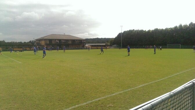 Daventry Town on FA Cup day...