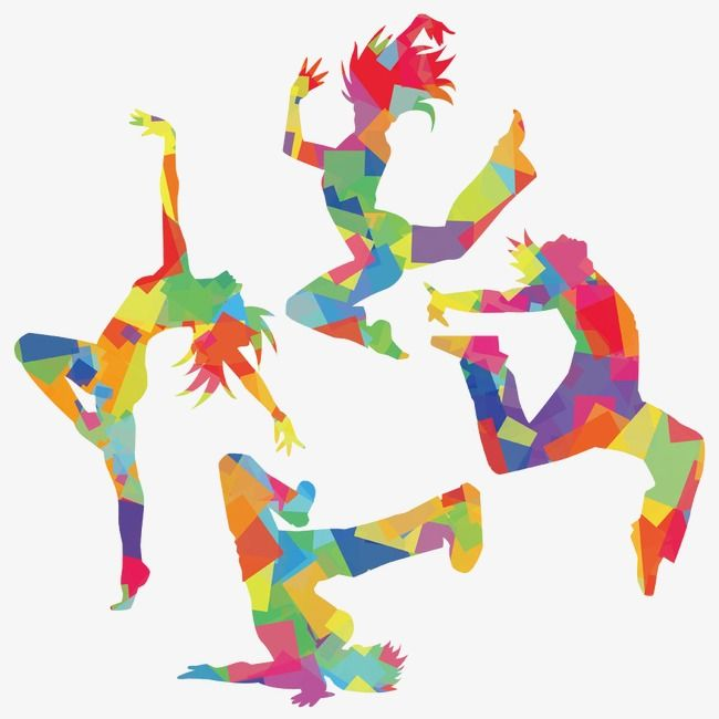 Hip Hop Silhouette Figures Sketch Hand Painted Color Png And Vector With Transparent Background For Free Download Easy Love Drawings Dance Crafts Dance Paintings