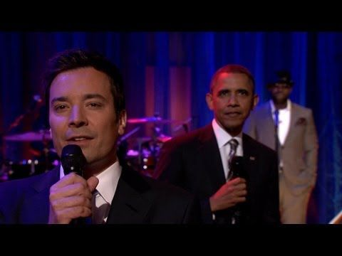 The President does a slow jam with comedian Jimmy Fallon. What do you think - cool or clunky?