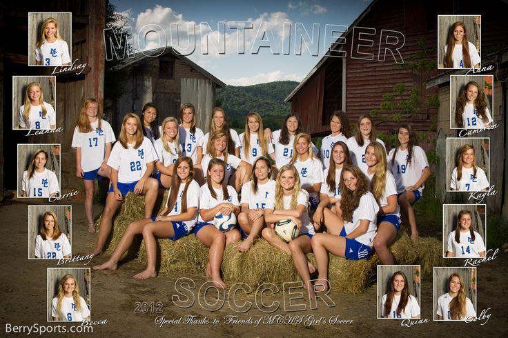 Sports Team Photography Ideas | BerrySports.com » The 2012 MCHS Varsity Girl's Soccer Poster