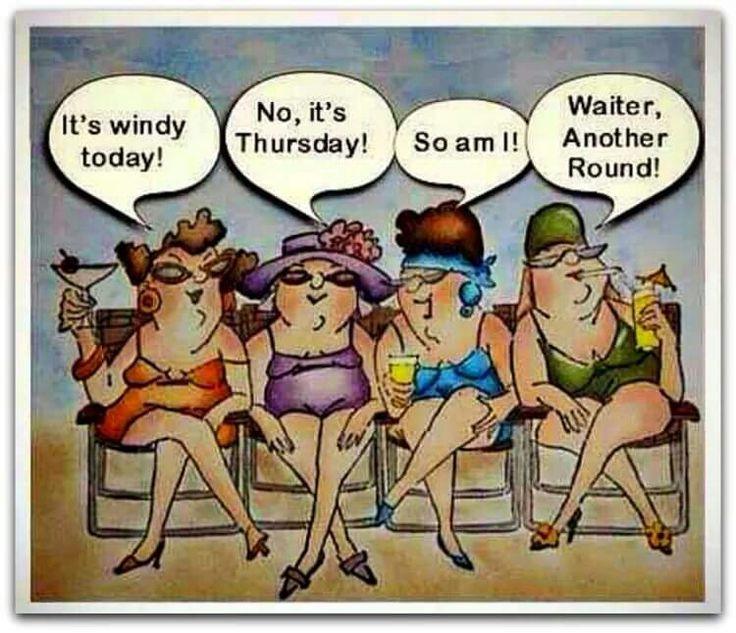 It's windy today...