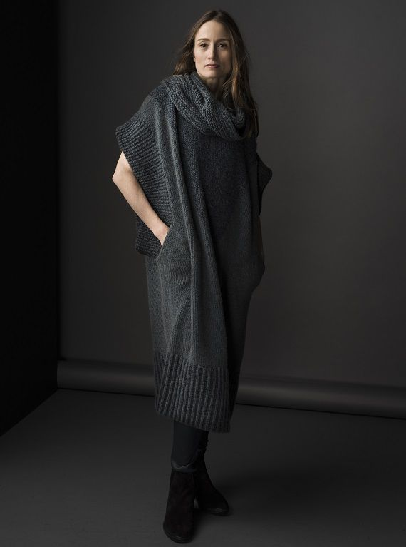 HANIA by Anya Cole Roko Dress with Cowl Neck Fall/Winter 2015