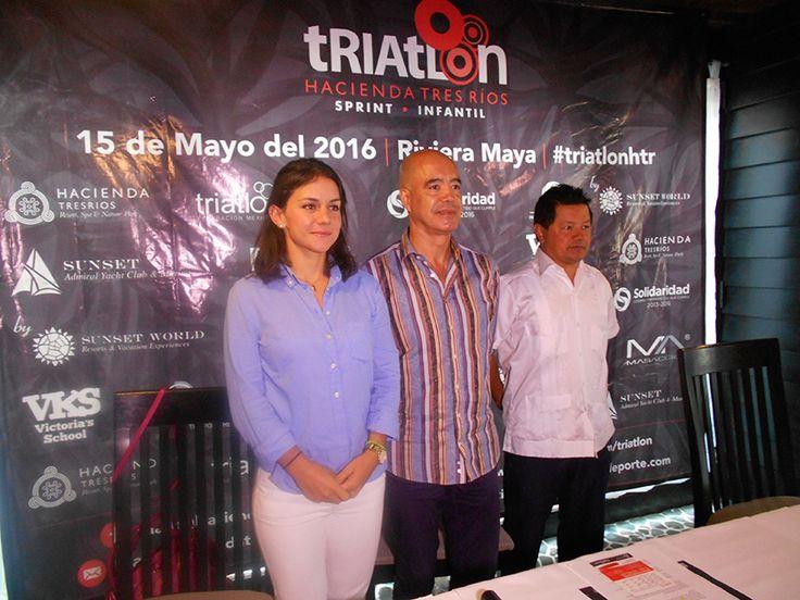 SEXTO TRIATLÓN DE TRES RÍOS, EL 15 DE MAYO