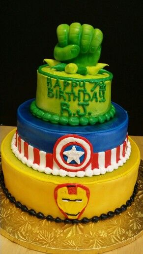 17 best Superhero Themed Cakes images on Pinterest Cake art