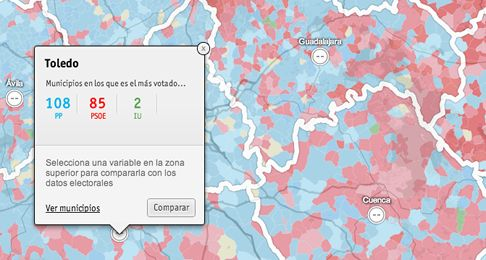 Election Map: 2011 Spanish Elections — CartoDB