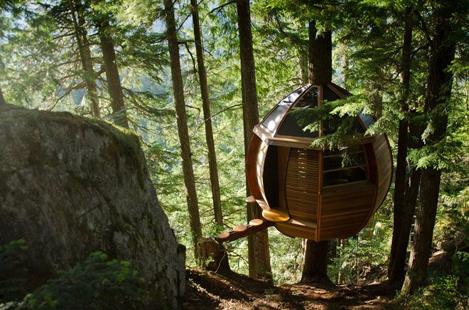 Weekend Cabin: The HemLoft, Whistler, B.C.Whistler, Canada, Trees Forts, Tree Houses, Joel Allen, Treehouse, Trees House, Places, British Columbia