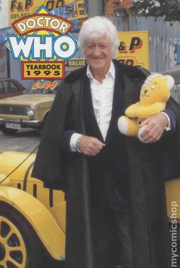 Doctor Who Yearbook (1991) 1995 marvel comic books