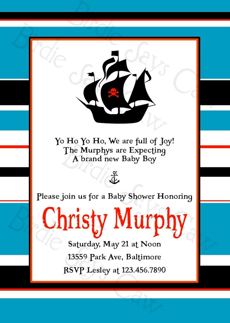 134 best Pirate Baby Shower images on Pinterest | Pirate baby ...