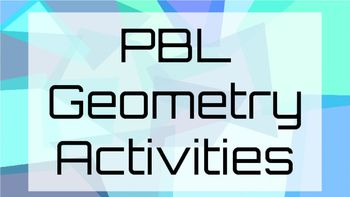 These three PBL activities are great for students to choose from for independent projects at the end of a geometry unit.  Students have a choice of three projects including:ArchitectStudents design a blueprint for the exterior of their dream house.  They then describe and classify the types of shapes and angles used.World TravelerStudents visit different architecture around the world and describe the varying geometric terms they see using a travel journal and passport.Beyond Square…