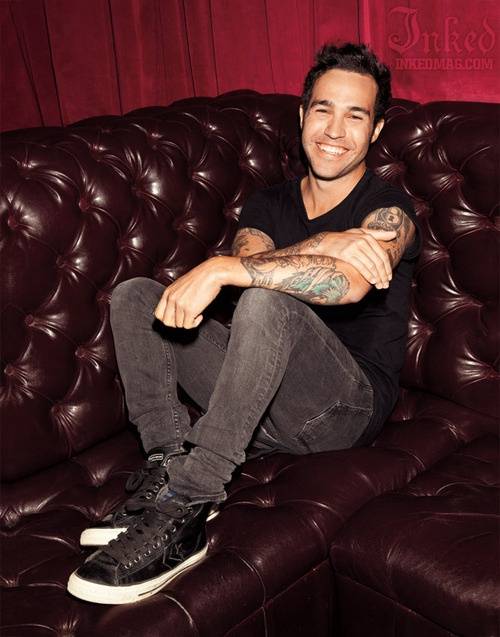 Pete Wentz by Andrew McLeod