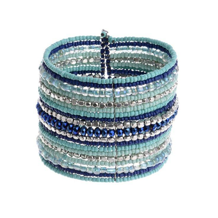 BRACELET IN LIGHT BLUE COLOR - Bracelets - Jewellery - Accessories