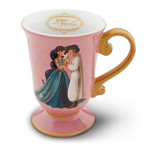 New Princess Jasmine & Aladdin Mug Disney Store Fairytale Designer Collection