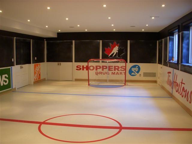 Hockey room: Hockey Room