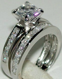 princess cut only one thing that would make this better would be a blue sapphire