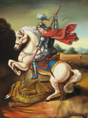 Oración a san Jorge para abrir los caminos, atraer prosperidad, riqueza, suerte y Éxito