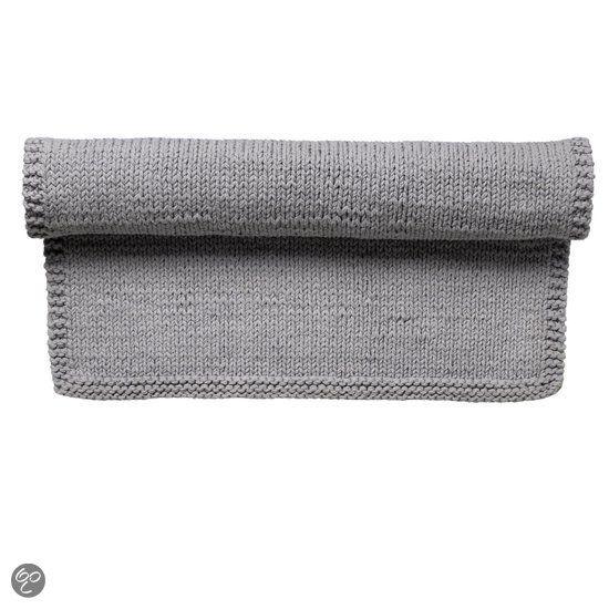 Bloomingville Gebreid Vloerkleed   #Grey, #Carpet, #Bloomingville