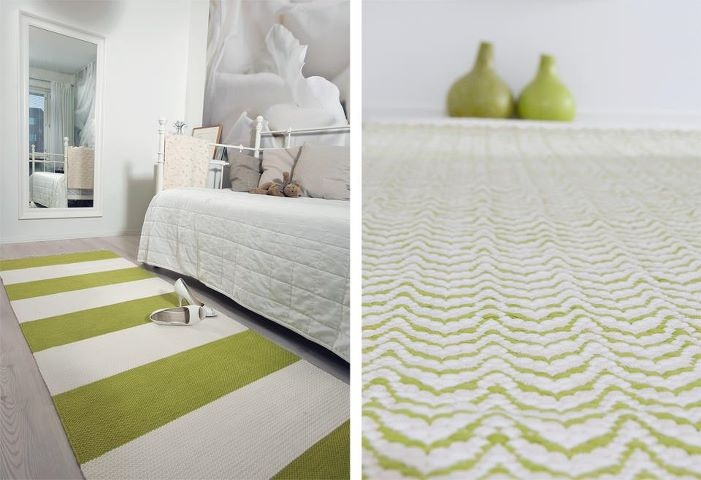 beautiful handmade carpets from Homecrafts Finland