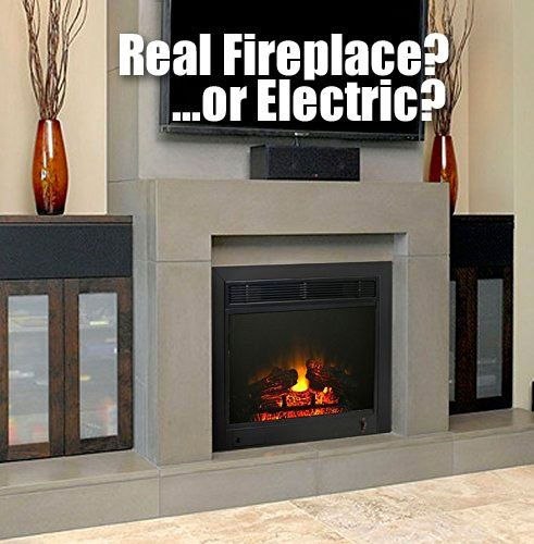 Paramount Electric Fireplace Insert... Looks Like Real Built-In - 25+ Best Ideas About Electric Fireplaces On Pinterest Electric