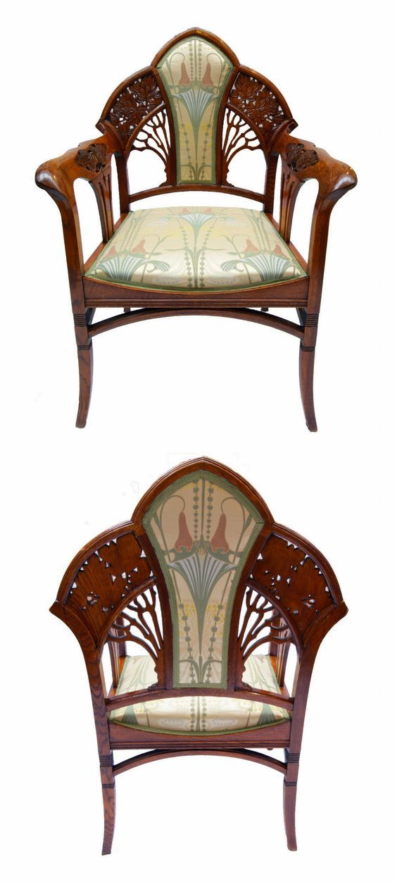 Antique Jugendstil style armchair  circa 1890 s 1900 s  From here  Art  Nouveau FurnitureArt Nouveau BedroomArt Nouveau InteriorEclectic  Best 25  Art nouveau furniture ideas on Pinterest   Art nouveau  . Art Nouveau Furniture. Home Design Ideas