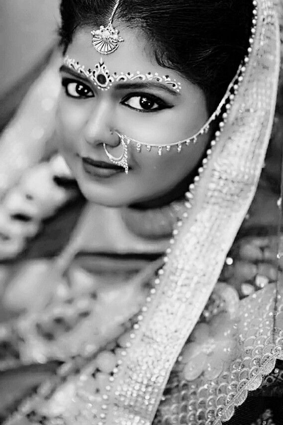 My wedding day look  #Bengalibride #BengaliMakeupLook