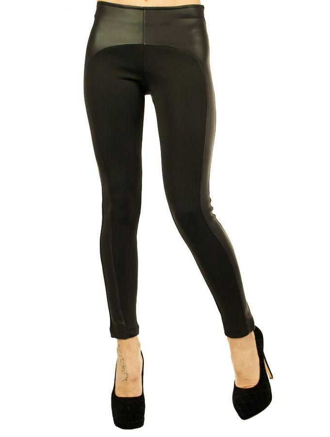 Pantalon Dama Cowboy  Pantaloni dama casual-elegant, ce poate fi purtat la diferite ocazii, fiind usor de accesorizat.  Detaliu - insertie de latex negru.  Croi stil pana, material usor elastic, ce poate fi purtat cu usurinta de diferite tipuri de silueta.     Lungime: 87cm  Latime talie: 32cm  Compozitie:62%Poliester, 35%Vascoza, 3%Lycra
