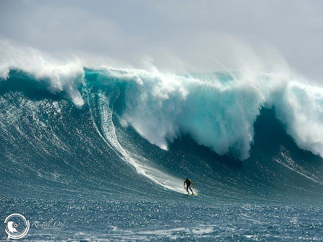 Massive swell in Margaret River Western Australia