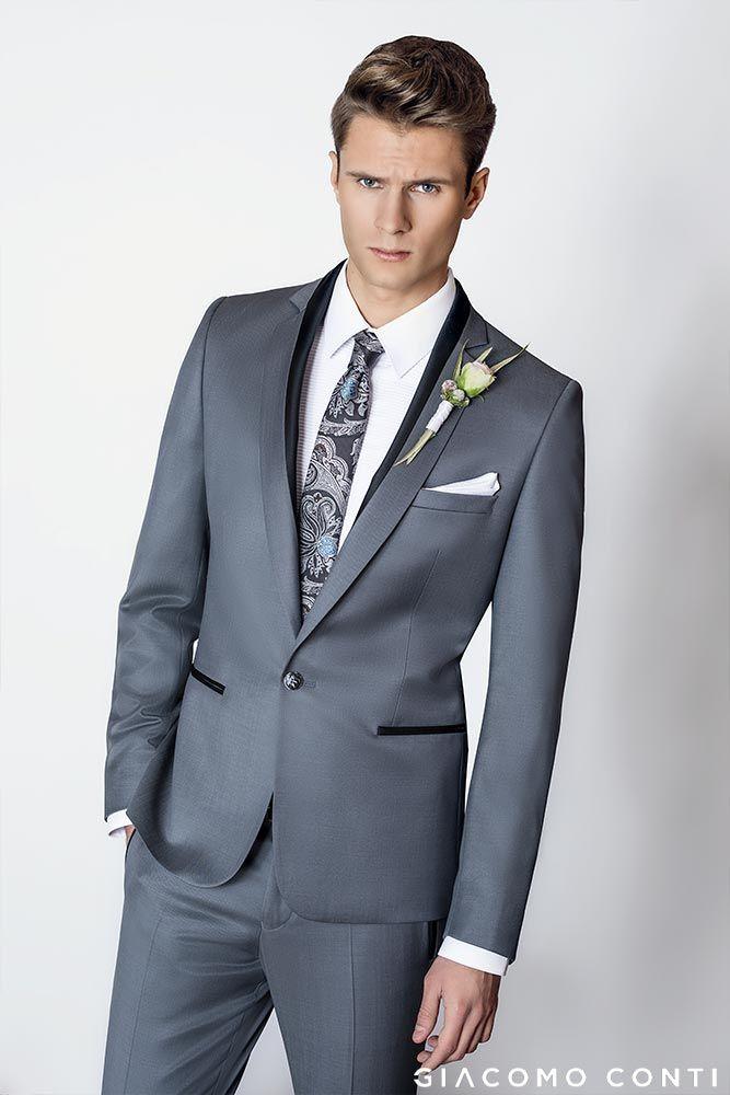 bb3e1da9de068 Do tego biała koszula SIMONE KDBS000363 | Lookbook Ślubny 2018 - Kolekcja  Giacomo Conti w 2019 | Suits…