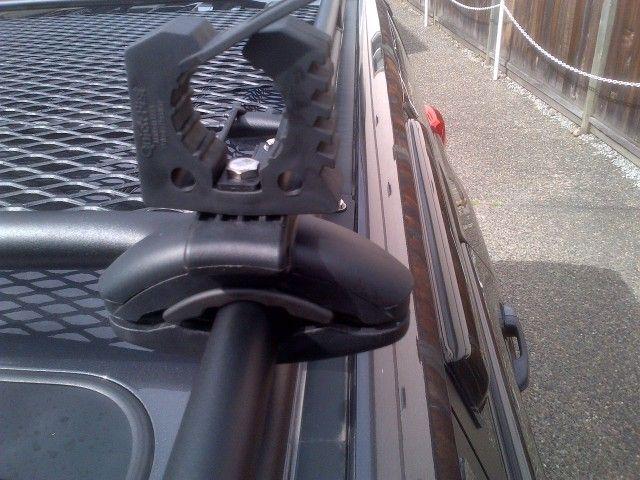 Cheap Do It Yourself Shovel/axe Carrier For Roof Racks   Toyota 4Runner
