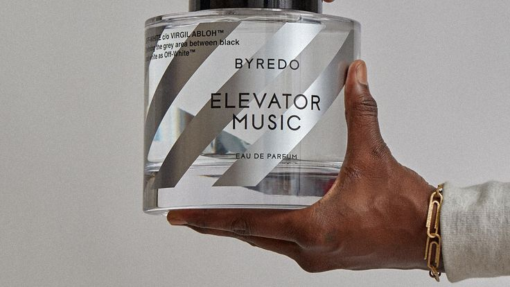 """At the unveiling of the Off-White x Byredo """"Elevator Music"""" collaboration, the designer talks about a new cult limited edition collection of fashion and fragrance."""