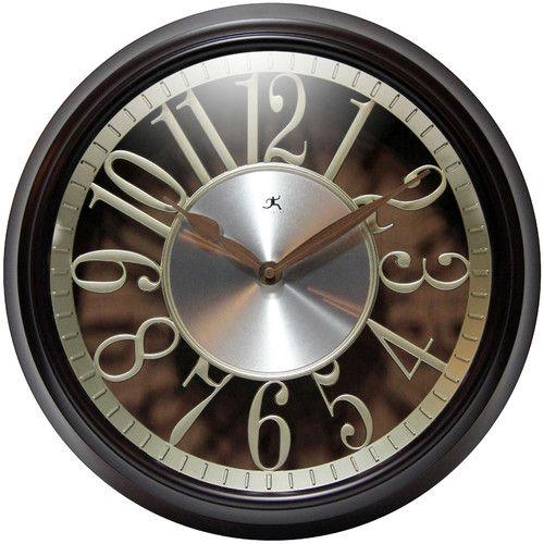 "Found it at Wayfair - Leeds 15"" Wall Clock"