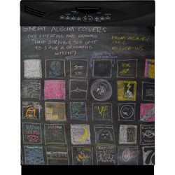 Appliance Art Instant Chalkboard Dishwasher Cover