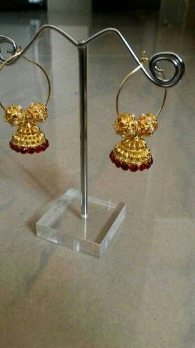 Check out Golden Jhumka on Shopo - http://shopo.in/products/4127972?referrerid=904847&utm_source=Share&utm_medium=Android&utm_campaign=ListingApproved&utm_content=ListingApproved