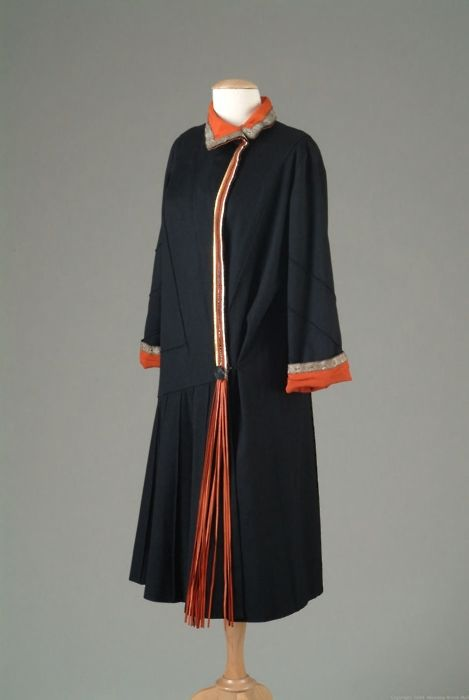 8-11-11  Coat    Paul Poiret, 1924    The Meadow Brook Hall Historic Costume Collection