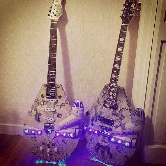 Solo Guitar  Millennium Falcon  Star Wars  3 Month par DoniGuitars