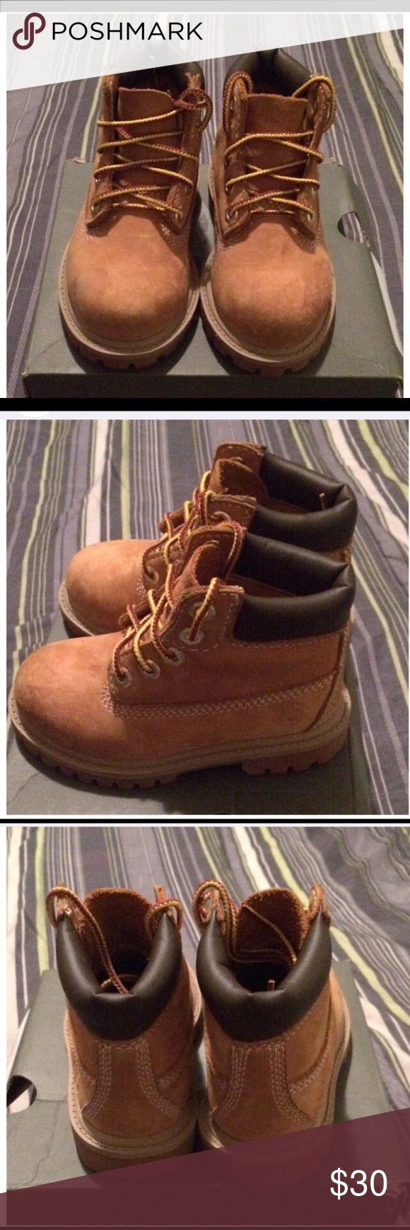 Toddler Wheat Timberland Boots Size infant 7 Timberland Shoes Sneakers