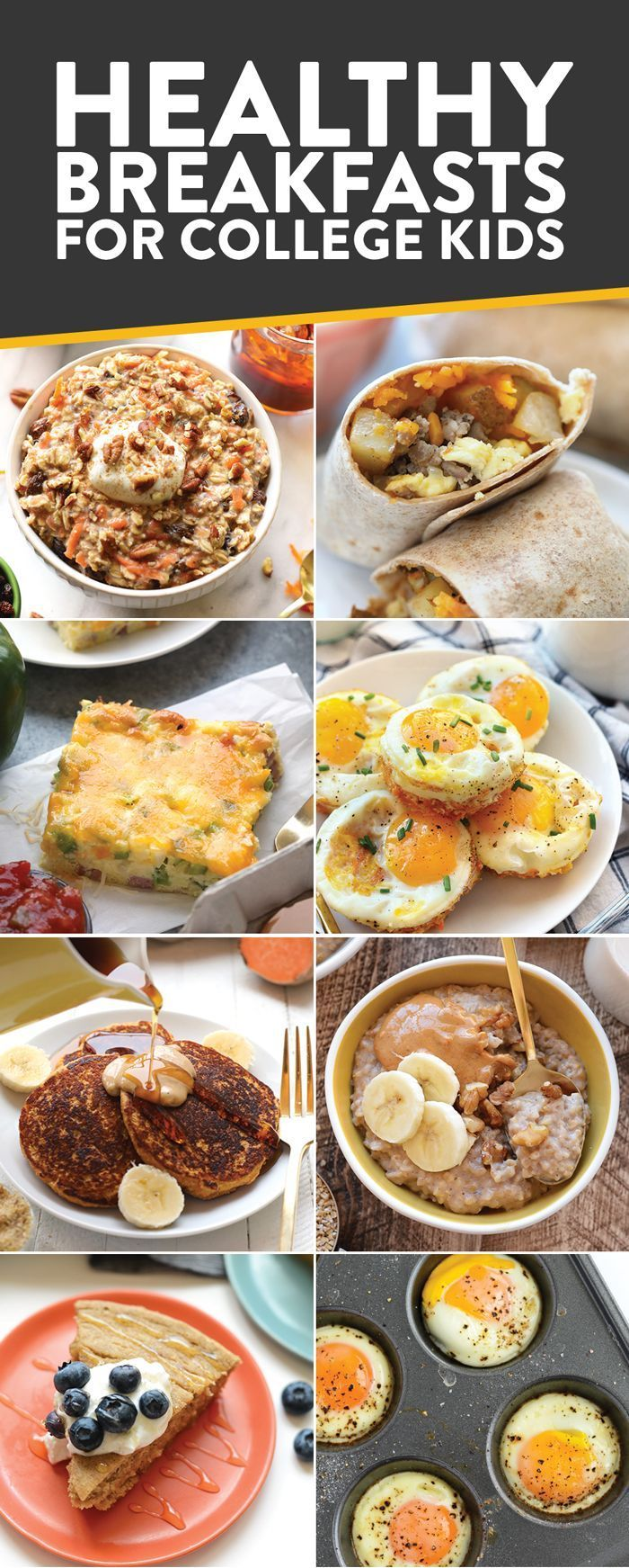 Best 25 fit university ideas on pinterest necessities for are you a college kid looking to eat healthy and on a budget in this post youll find all of fit foodie finds best recipes breakfast lunch dinner ccuart Image collections